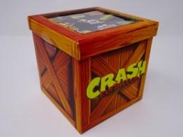 caisse 9 pins Crash Bandicoot