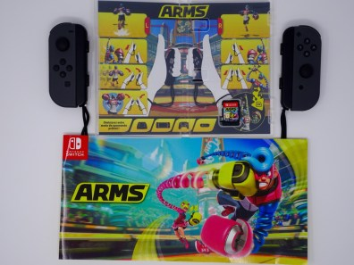 commandes arms switch aves joy-con
