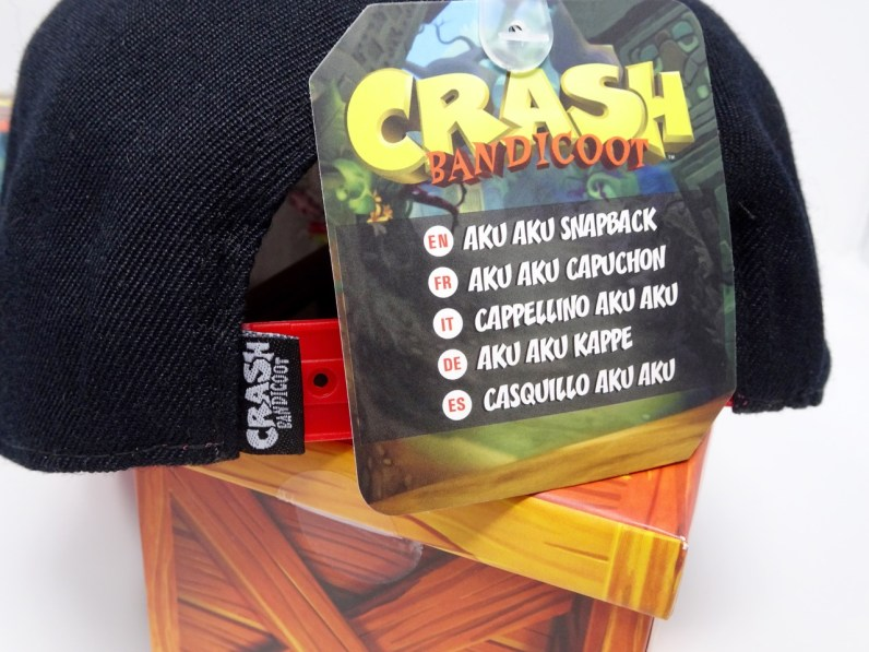 Casquette Crash Bandicoot