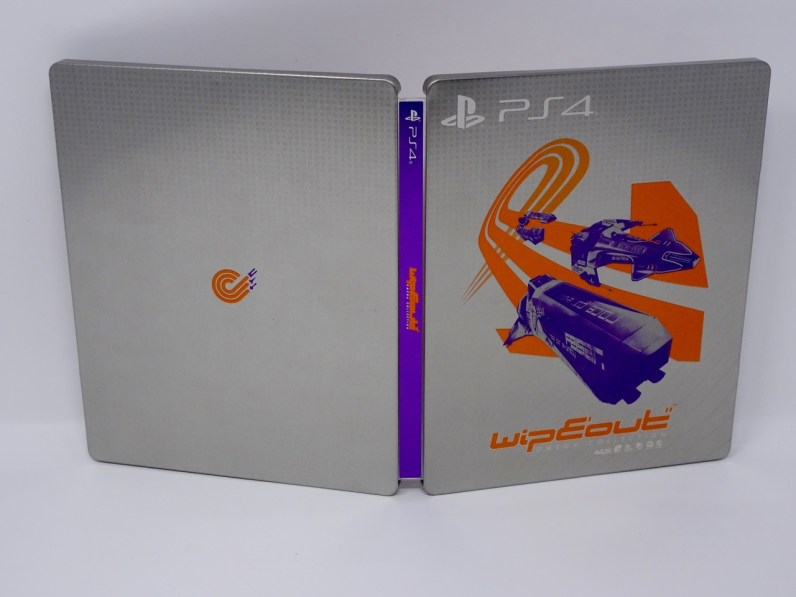 Steelbook Wipeout Omega collection