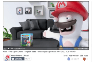 Unboxing Mario + The lapins crétins : kingdom battle