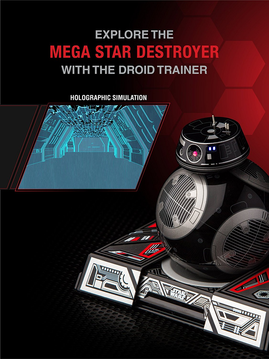 Application BB-9E hologramme