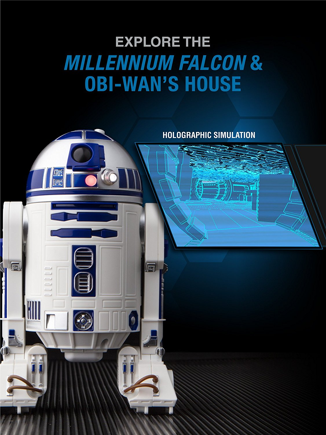 Application Sphero R2-D2 hologramme