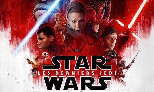 affiche Star Wars les derniers Jedi