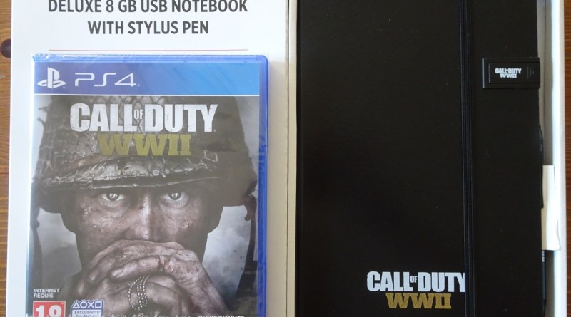 notebook USB Call of duty WWII