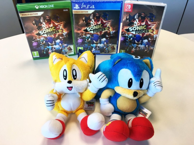 Sonic forces PGW