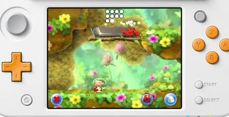 test hey Pikmin 2DS