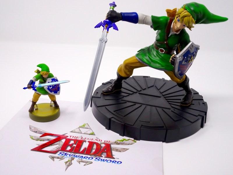 Unboxing Statuette Link Zelda