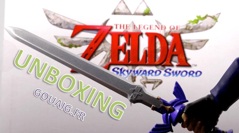 Unboxing figurine Link Zelda