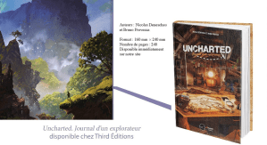 Livre Uncharted Third Edition