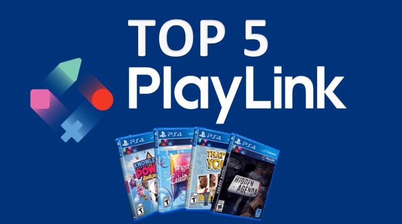TOP 5 - Les meilleurs jeux PlayLink PS4