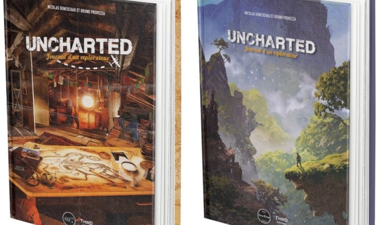 couverture Uncharted Third Edition