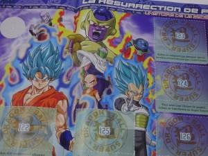 Dragon Ball Super album et stickers Panini