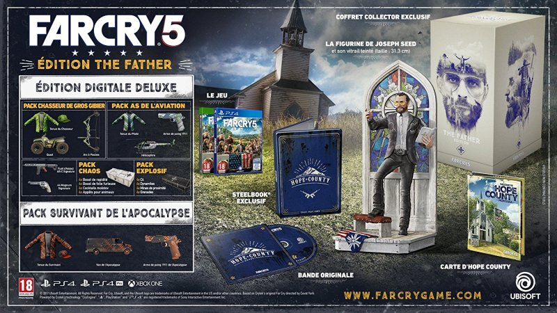 Edition collector Far Cry 5