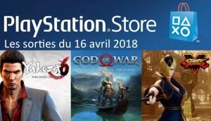 MAJ Playstation Store god of war