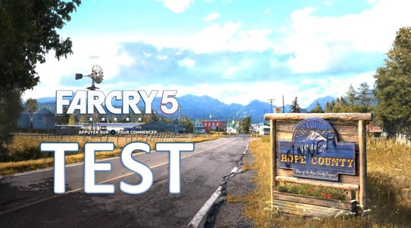 Test Mon avis sur Far Cry 5