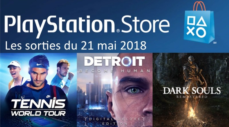 MAJ Playstation Store 21 mai
