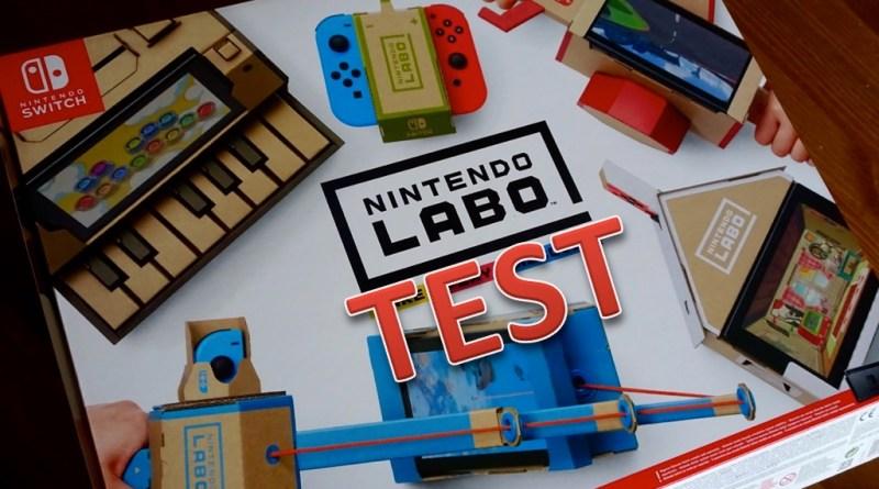 Test Nintendo Labo Switch Mon avis