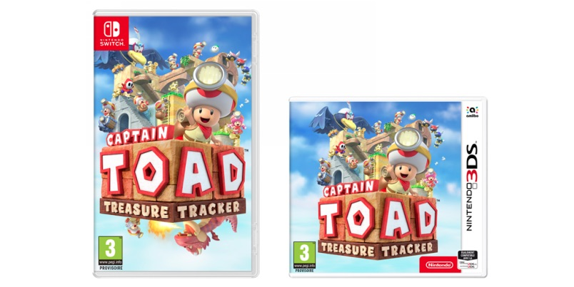 Captain Toad Treasure Tracker Switch 3DS