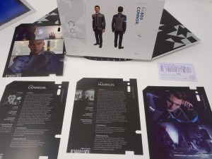 Unboxing Presskit Detroit Become Human