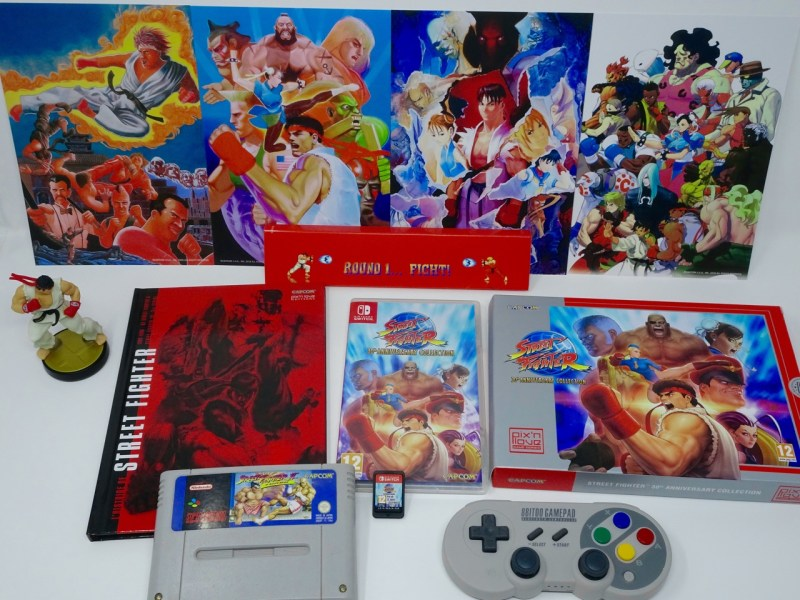 Unboxing Street Fighter 30th Anniversary Collection Edition Collector