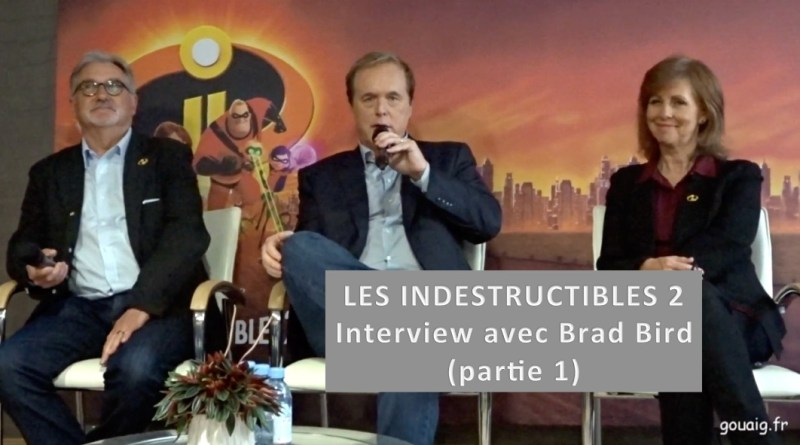 Interview Brad bird