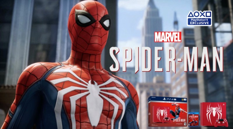 Spiderman PS4 Pro Story trailer