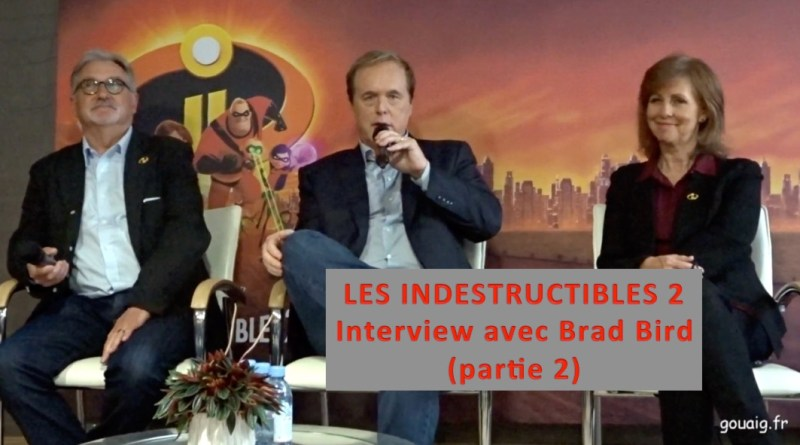 interview Brad Bird Les indestructibles 2
