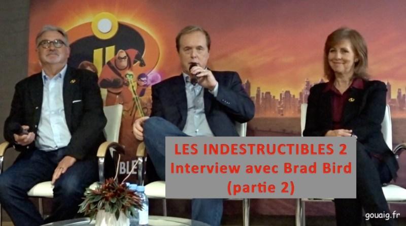 interview Brad Bird Les indestructibles 2