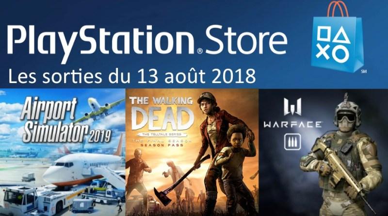 MAJ Playstation Store 13 aout