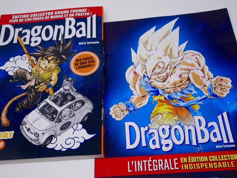 Manga Dragon Ball intégrale collector