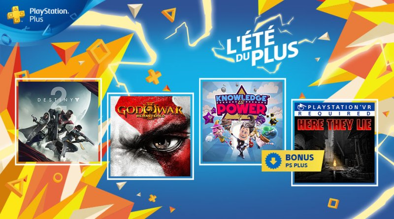 PS Plus - Septembre 2018