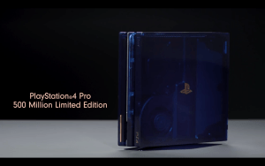 PS4 pro 500 millions limited edition