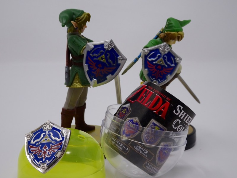 Pins bouclier Zelda Twilight Princess