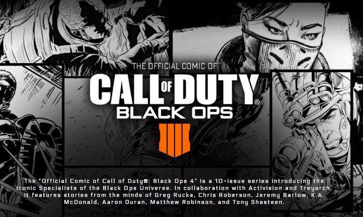 Comics Call of Duty Black Ops 4