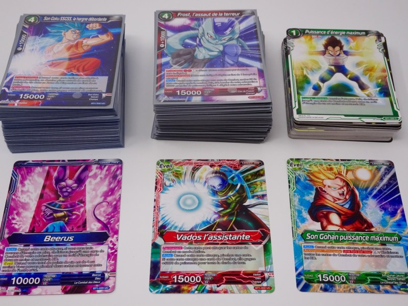 Dragon Ball Super Card Game Jeu de cartes