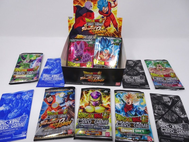 cartes à collectionner dragon ball super
