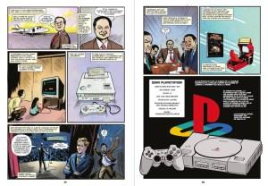 Passionnante Histoire des Jeux Video en comics