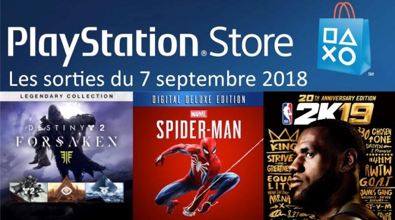 MAJ Playstation Store 07 septembre