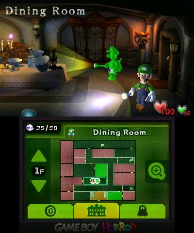 luigi s mansion 3DS double écran