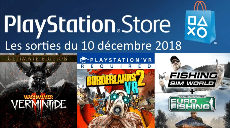 MAJ Playstation Store 10 décembre