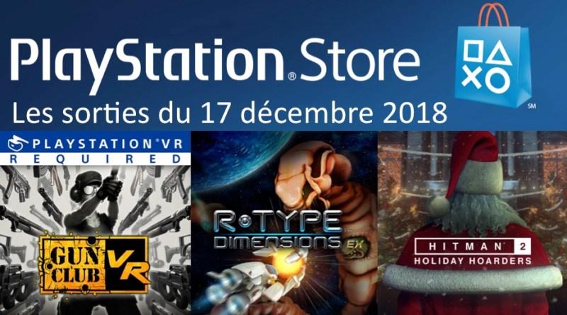 MAJ Playstation Store 17 décembre