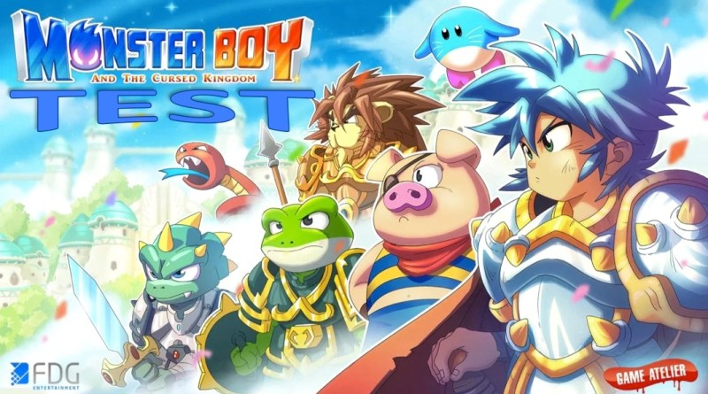 Test Monster Boy and the Cursed Kingdom - Gouaig