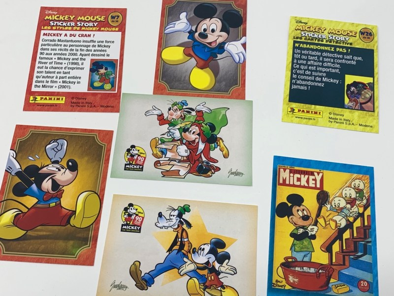 Album Panini Mickey Mouse Sticker Story