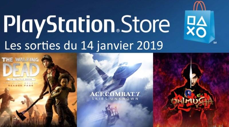MAJ Playstation Store 14 janvier