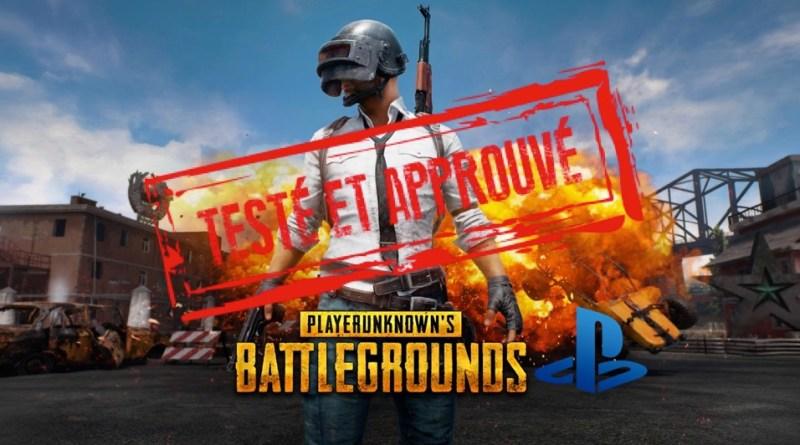[Test] PlayerUnknown's Battlegrounds – PUBG sur PS4 Pro