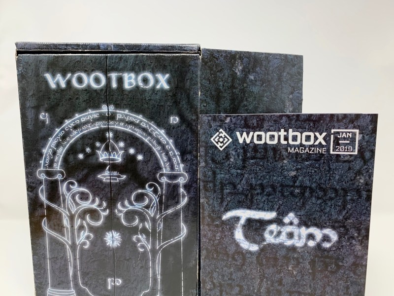 Unboxing Wootbox Janvier 2019
