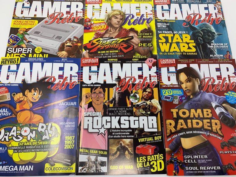 Vidéo Gamer Rétro Magazine actu retrogaming