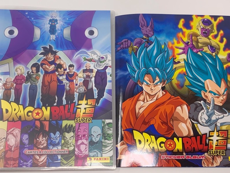 Dragon Ball Super Trading cards