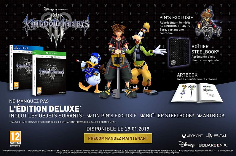 Edition Deluxe KH3